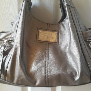 Relic silvertone satchel purse